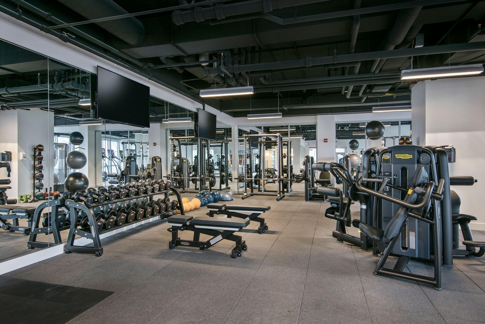 A State Of The Art Fitness Center Is At Your Disposal