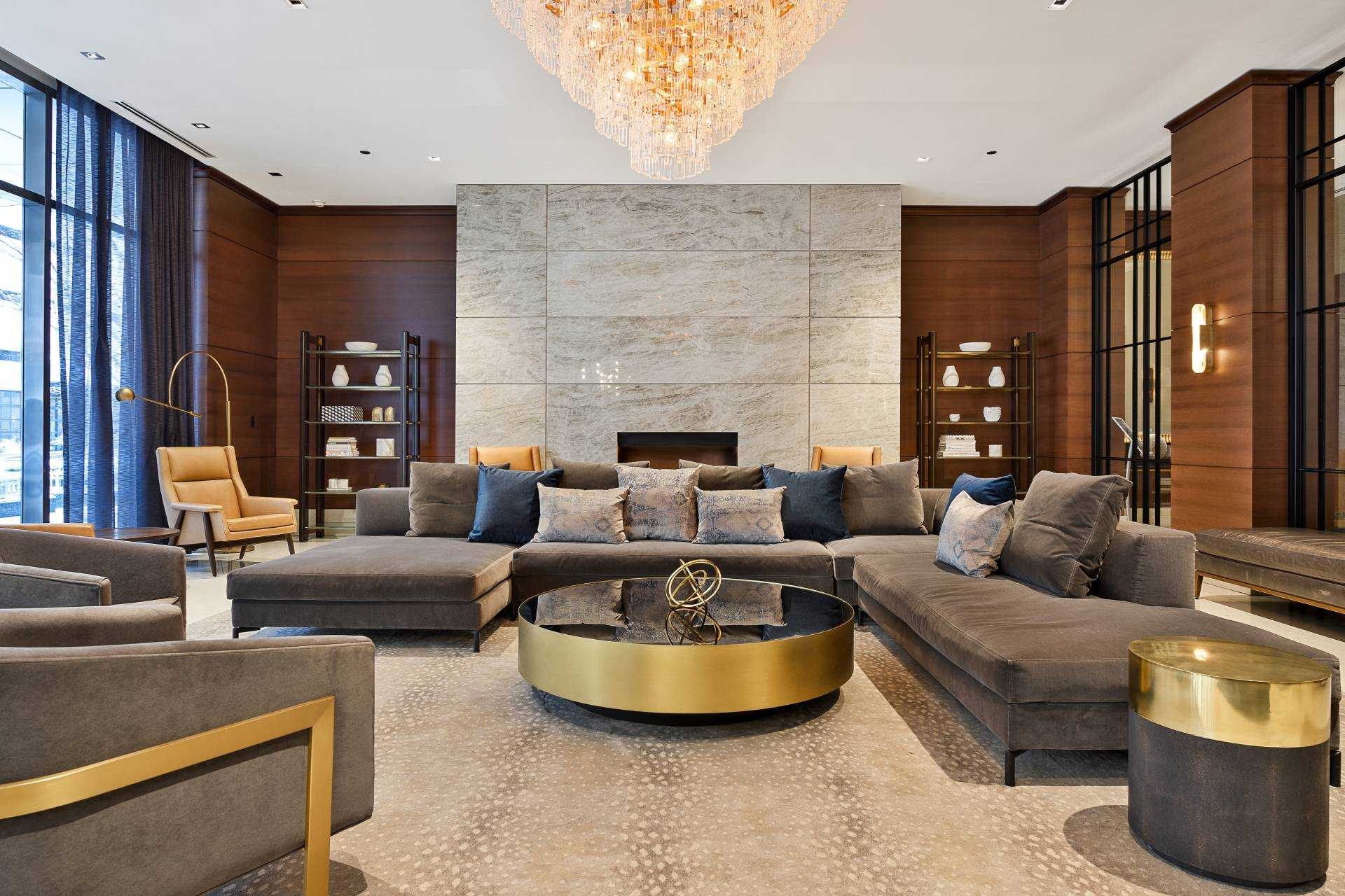 The Lobby Welcomes You Home In Grand Style